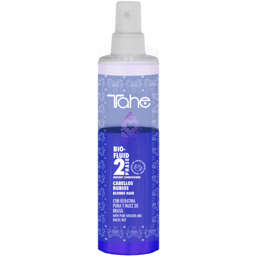 BIO-FLUID BLONDE HAIR CONDITIONER 2 PHASE (300 ml) Tahe