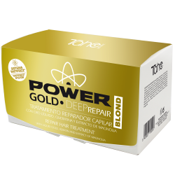 Anti-frizz GOLD POWER DEEP REPAIR for blond hair (6x10 ml)