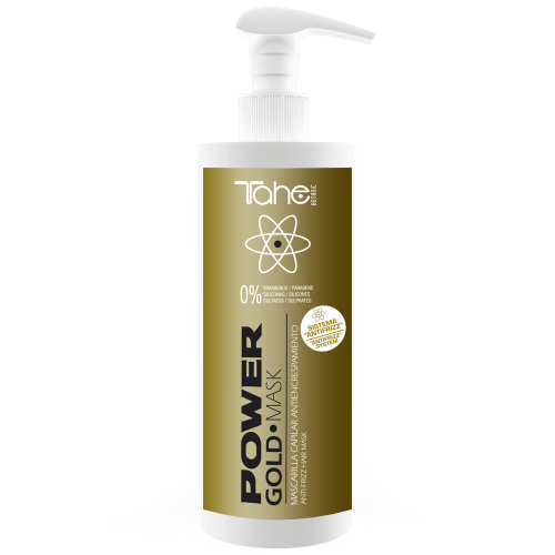Anti-frizz GOLD POWER MASKA (400 ml) TAHE