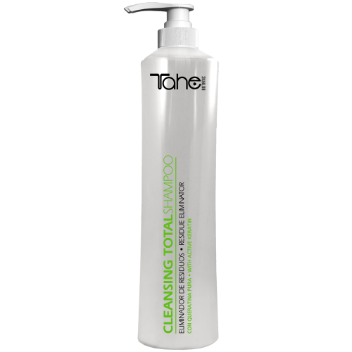 BOTANIC CLEANSING TOTAL SHAMPOO with active keratine (800 ml) Tahe