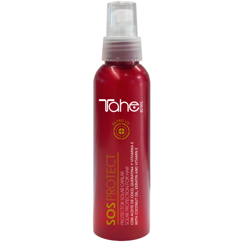HAIR OIL SOS PROTECT BOTANIC SOLAR -solar protection for hair (150 ml) Tahe