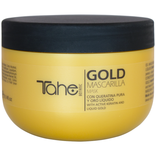 TAHE BOTANIC GOLD mask for dried and damaged hair (300 ml)