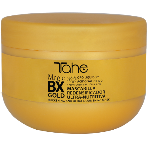 TAHE MAGIC Bx GOLD mask for dry and damaged hairs (300 ml)