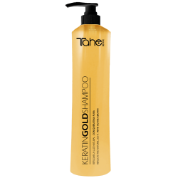 Tester TAHE BOTANIC GOLD Shampoo with active keratine for coloured and damaged hair (10 ml)