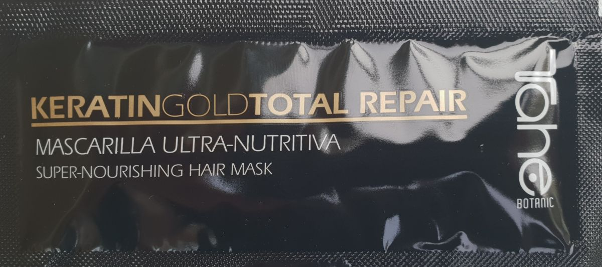 Tester TAHE MAGIC Bx GOLD mask for dry and damaged hairs (10 ml)