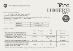 LUMIÉRE COLOUR EXPRESS S.02 Cider-natural pearl (100 ml) Tahe