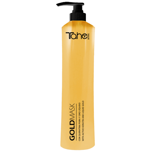 TAHE BOTANIC GOLD mask for dried and damaged hair (800 ml +200 ml free of charg)
