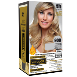 Hair dye V-color no.900 (super platinum blonde)- home kit+shampoo and mask free of charge