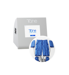 Presotherapy machine with 9 valves and heating regulation