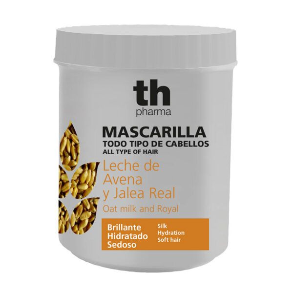 Hair mask with extract of oat milk and royal (700 ml) TH Pharma