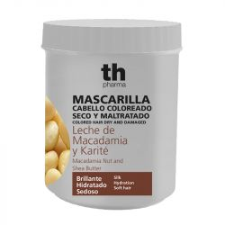 Hair mask with macadamia nut and shea butter (700 ml) - smells beautiful