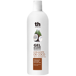 Shower gel with coconut oil for dry skin (750 ml)