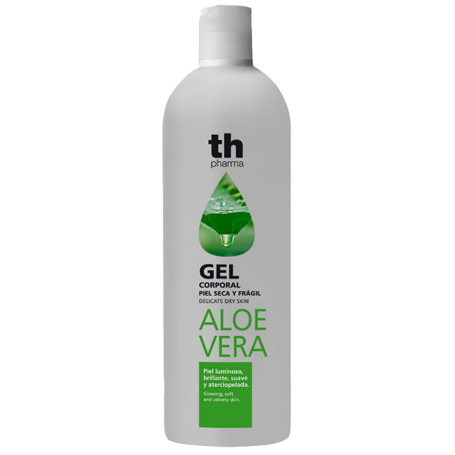 Shower gel with aloe vera extract for delicate dry skin (750 ml) TH Pharma