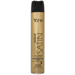 STRONG HOLD SPRAY SATIN KERATIN GOLD fix.5 (400 ml)