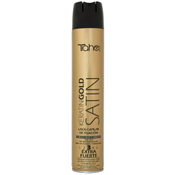 STRONG HOLD SPRAY SATIN KERATIN GOLD fix.3 (400 ml) new formula